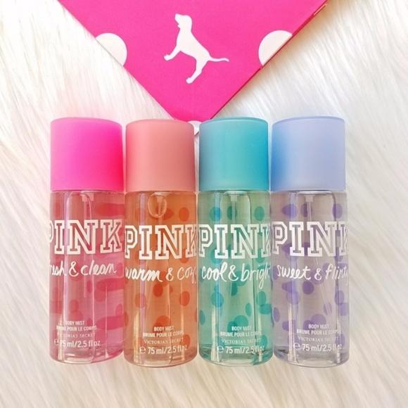 5179524b48 Victoria s Secret PINK Body Mist Travel Set Sprays.  M 5a57b9dfc9fcdf2017025d13
